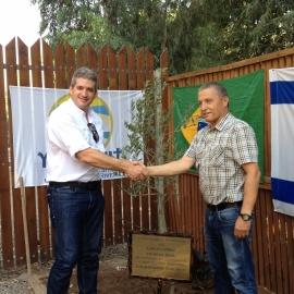 Homenagem para Carlos Caprice em Israel
